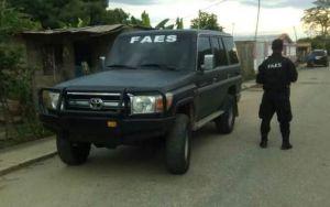Cuatro funcionarios de la Faes fueron detenidos en Táchira por extorsión