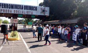 Detienen a tres dirigentes de Ferrominera Orinoco por instar a trabajadores a sumarse a protesta
