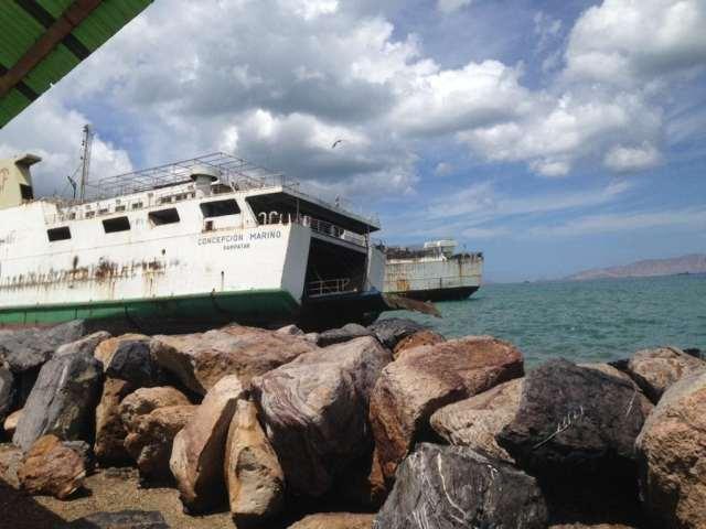 Un cementerio de barcos (Foto José Camacho)