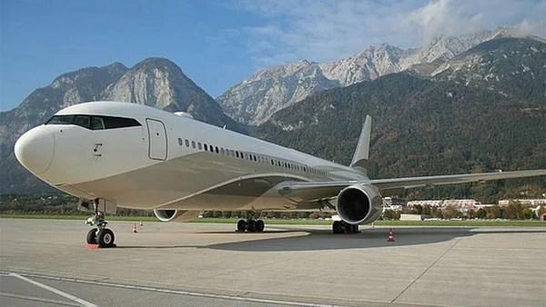 Caprichos en el aire: Así son los jets privados de magnates y famosos (Fotos)