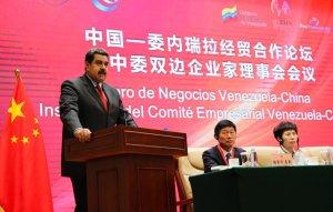 Maduro pide a los inversores chinos que crean en Venezuela