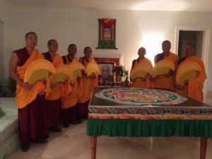 Monjes budistas construirán un mándala por la paz de Venezuela