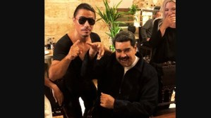 "¡Qué fuerte! Así reaccionó J Bavin al video de Maduro junto a ""Salt Bae"""