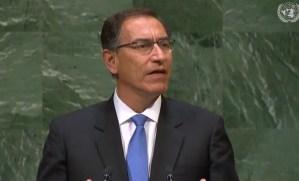 Perú condena en la ONU la ruptura del orden constitucional en Venezuela #25Sep