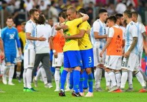 Brasil vence sobre la hora a Argentina en amistoso del superclásico de las Américas