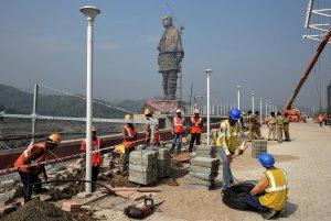 India inaugurará la estatua más grande del mundo (FOTO)