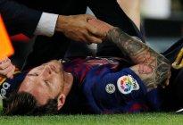 ¡Alarma en Barcelona! Messi se perderá el Clásico por su lesión en el brazo derecho