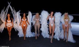 ¡Alerta Hot! Victoria's Secret transforma a todas las Kardashian en irresistibles angelitas (FOTOS)