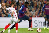 Barcelona vence al Sevilla y recupera el liderato, pero pierde a Messi