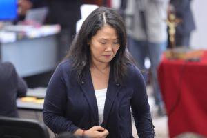Justicia peruana manda a prisión a dos coacusados con Keiko Fujimori