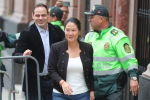 Fiscal solicita impedir la salida de Perú del esposo de Keiko Fujimori