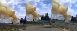 Vecinos reportan accidente en la Refinería de Amuay #11Oct (Fotos)