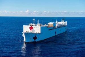 Llega a Ecuador el buque hospital de EEUU para ofrecer atención médica