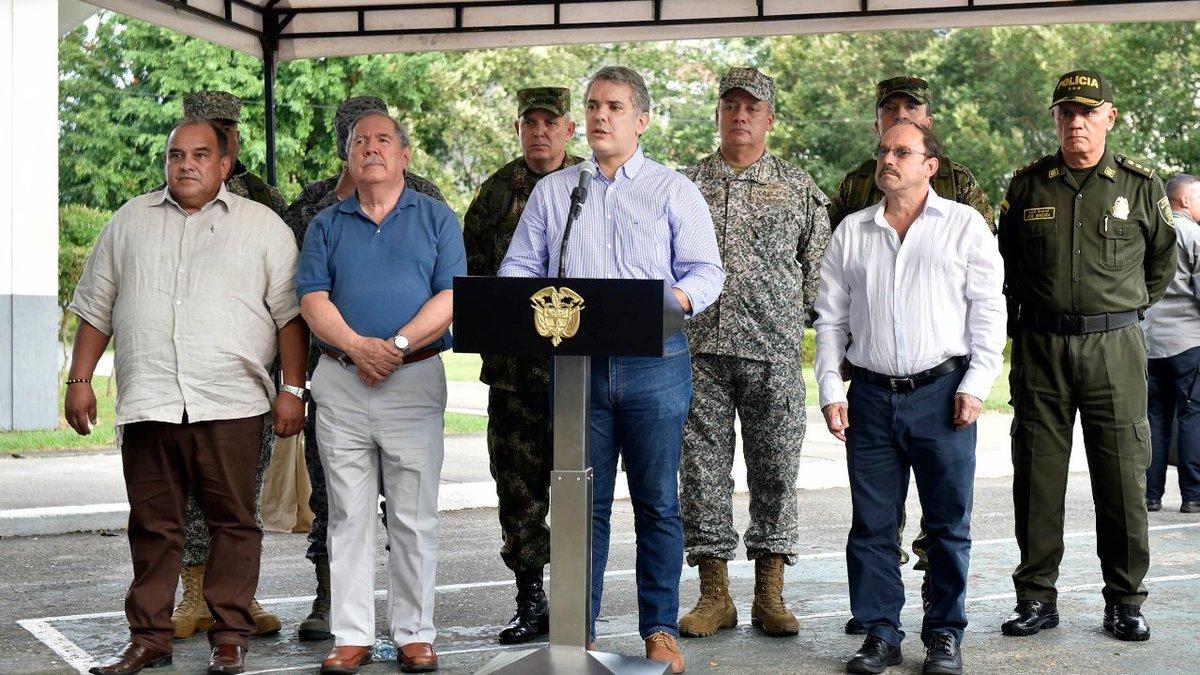 Duque asegura que autoridades de Venezuela autorizan a grupos armados a transitar en la frontera colombo-venezolana (Video)