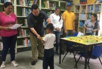 Ángel Aristimuño realiza jornadas contra la deserción escolar en Monagas