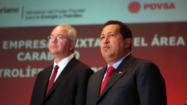 Ramírez era el hombre fuerte de Chávez en el tema petrolero y remató la trama de los bonos del Sur / Foto: PDVSA