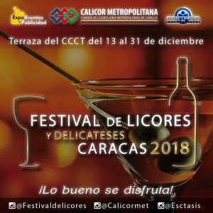 El Festival de Licores y Delicateses Caracas 2018 está listo para impulsar el emprendimiento nacional