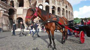 Adiós a los paseos en carruaje por las calles de Roma