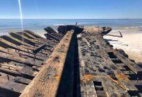 Descubren barcos que se hundieron en EEUU durante 1899 tras el paso del huracán Michael