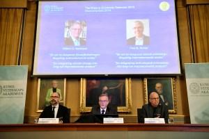 Nobel de Economía para estadounidenses Nordhaus y Romer