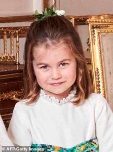 El impresionante parecido entre la princesa Charlotte y su papá, el príncipe Guillermo (foto)