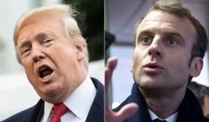 Macron responde a los tuits de Trump: Los aliados se deben respeto mutuo