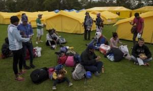 Colombia expulsa a 15 venezolanos que protagonizaron disturbios en campamento humanitario