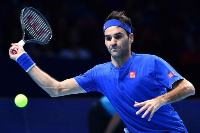 Federer vence a Anderson y se mete como primero de grupo a semifinales del Masters de Londres
