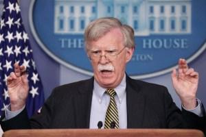 Bolton lanza advertencia a los empleados del Banco Central de Venezuela