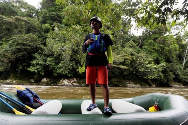 Exguerrilleros de las Farc lanzan proyecto turístico de rafting en la selva de Colombia (Fotos)