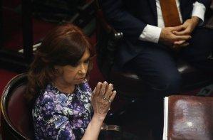 Senado argentino tratará el próximo martes el desafuero de la expresidenta Cristina Kirchner