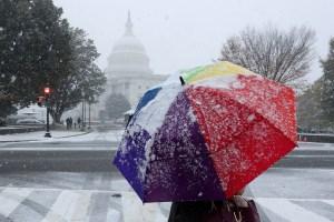 ¡Hermoso! Así fue la primera nevada en Washington D.C. (FOTOS)