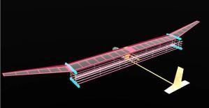 """El avión eléctrico inspirado en """"Star Trek"""" que presenta un curioso sistema de propulsión"""