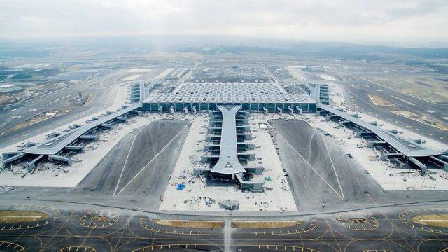 El nuevo aeropuerto de Estambul, uno de los más grandes del mundo