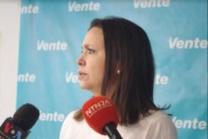 María Corina sobre el show con mini partidos: Es el régimen hablando con el régimen