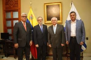 Directiva de la AN recibió la visita del encargado de negocios de la Embajada de Uruguay