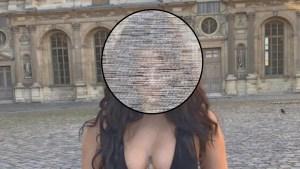 A esta influencer no la dejaron entrar al Louvre por sensual (+ ropita pecaminosa)