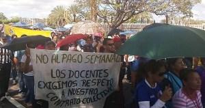 Educadores en Bolívar: Ya estamos pagando para ir a trabajar
