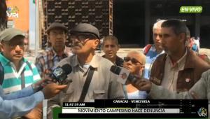 Campesinos de Barinas denuncian asesinatos por parte de grupos paramilitares (video)
