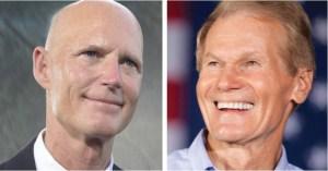 Secretario de Estado de Florida ordena recuento manual de votos para el escaño al Senado entre Bill Nelson y Rick Scott