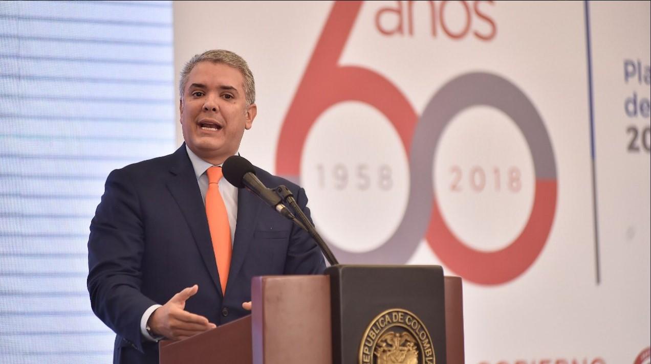 Gobierno de Duque en balance de primeros 100 días: Colombia mantendrá el aislamiento al régimen de Maduro
