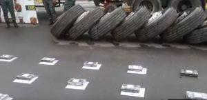 Incautan casi 350 kilos de cocaína escondidos en una gandola en Anzoátegui (VIDEO)