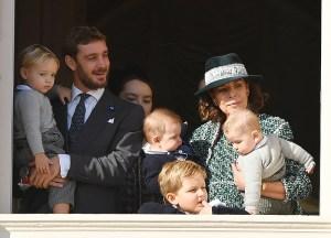 Los nietos pequeños de Carolina de Mónaco hacen su gran debut (fotos)