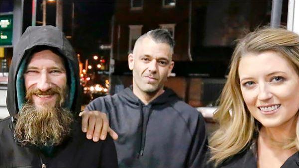 La pareja y el indigente que engañaron al mundo con una campaña en GoFundMe
