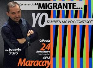 """""""Migrante… Yo también me voy contigo"""" llega al hotel Hesperia de Maracay"""