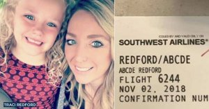 Una azafata se burla del nombre de una niña y publica su tarjeta de embarque en las redes sociales