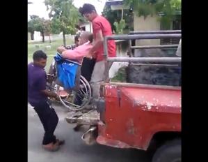 EN VIDEO: Pacientes renales en Zulia los trasladan ¡como sea! para recibir tratamiento