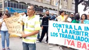 Educadores tomaron la Av. Rómulo Gallegos para exigir mejoras salariales (Videos)