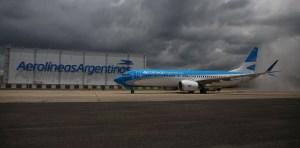Cifras rojas en Aerolíneas Argentinas por baja productividad