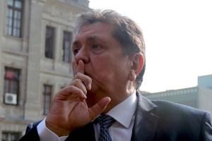 Expresidente Alan García no asistió a declarar sobre supuestas escuchas ilegales